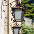 Stock Photo: Characteristic wall lanterns.
