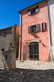Ruelle. Montebello. Émilie-Romagne. Italie. — Photo