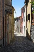 Gränd. montebello. emilia-romagna. italien. — Stockfoto