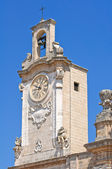 Catedral basílica. oria. puglia. italia. — Foto de Stock
