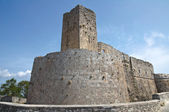 Castle of Monte Sant'Angelo. Puglia. Italy. — 图库照片
