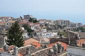 πανοραμική θέα της monte sant'angelo. puglia. ιταλία. — Φωτογραφία Αρχείου