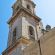 Belltower Cathedral Basilica. Oria. Puglia. Italy. — Stock Photo