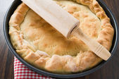 Mediterranean Pie. — Stock Photo
