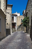 Alleyway. Pietrapertosa. Basilicata. Italy. — Stock Photo