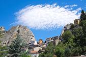 Vista panorámica de pietrapertosa. basilicata. italia. — Foto de Stock