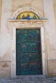 Church of St. Francesco. Vieste. Puglia. Italy. — Stock Photo