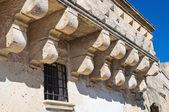 Historical palace. Sassi of Matera. Basilicata. Italy. — Stock Photo