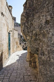 Alleyway. Sassi of Matera. Basilicata. Italy. — Stock Photo
