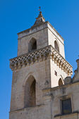 St. Pietro Caveoso Church. Matera. Basilicata. Italy. — Stock Photo