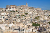 Panoramic view of Matera. Basilicata. Italy. — Stock Photo