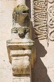 Detail of Matera Cathedral. Basilicata. Italy. — Stock Photo