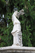 Marmorstaty. Grazzano visconti. Emilia-Romagna. Italien. — Stockfoto