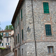 Stock Photo: Alleyway. Bobbio. Emilia-Romagna. Italy.