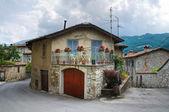 View of Bobbio. Emilia-Romagna. Italy. — Stock Photo