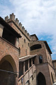 Podestà's Palace. Castell'Arquato. Emilia-Romagna. Italy. — Photo