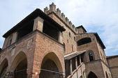 Podestà's Palace. Castell'Arquato. Emilia-Romagna. Italy. — Zdjęcie stockowe