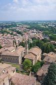 Panoramic view of Castell'arquato. Emilia-Romagna. Italy. — Stock Photo