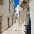Alleyway. Martina Franca. Puglia. Italy. - Stock Photo