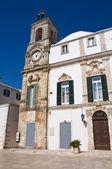 University Palace. Martina Franca. Puglia. Italy. — Stock Photo