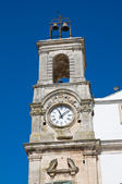 Municipal tower. Martina Franca. Puglia. Italy. — Stock Photo