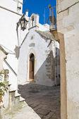 St. nicola w montedoro kościoła. martina franca. puglia. włochy. — Zdjęcie stockowe