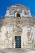 Basilica of St. Martino. Martina Franca. Puglia. Italy. — Stock Photo