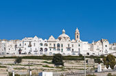 Panoramic view of Locorotondo. Puglia. Italy. — Stock Photo