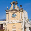 Stock Photo: Clocktower. Acquavivdelle Fonti. Puglia. Italy.