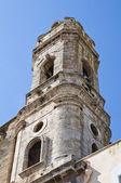 聖ベネディクト教会。アックアヴィーヴァ ・ デッレ ・ フォンティ。プーリア州。イタリア. — ストック写真