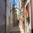 Stock Photo: Alleyway. Acquavivdelle Fonti. Puglia. Italy.