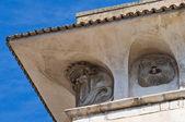 De Mari Palace. Acquaviva delle Fonti. Puglia. Italy. — Stock Photo