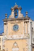 Clocktower. Acquaviva delle Fonti. Puglia. Italy. — Stock Photo