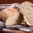 Homemade bread. Pane fatto in casa. — Stock Photo #9722930