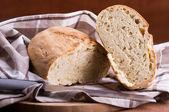 Homemade bread. Pane fatto in casa. — Stock Photo