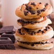 Chocolate chip brioche buns. — Stock Photo #9783350