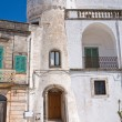 Amati tower. Cisternino. Puglia. Italy. — Stock Photo