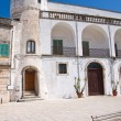 Amati palace. Cisternino. Puglia. Italy. — Stock Photo
