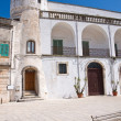 Amati palace. Cisternino. Puglia. Italy. - Stock Photo