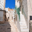 Alleyway. Cisternino. Puglia. Italy. — Stockfoto
