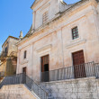 Mother Church. Cisternino. Puglia. Italy. — Stock Photo