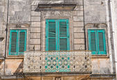 Historical palace. Cisternino. Puglia. Italy. — Stock Photo