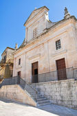 Mother Church. Cisternino. Puglia. Italy. — Stock Photo