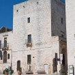 Great tower. Cisternino. Puglia. Italy. — Stock Photo
