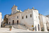Mother Church. Cisternino. Puglia. Italy. — Foto de Stock