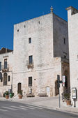 Great tower. Cisternino. Puglia. Italy. — Foto de Stock