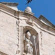 Church of St. Cataldo. Cisternino. Puglia. Italy. - Zdjęcie stockowe