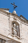 Church of St. Cataldo. Cisternino. Puglia. Italy. — Stock Photo