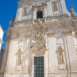 Basilica of St. Martino. Martina Franca. Puglia. Italy. - Stock Photo