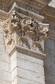St. Eustachio Cathedral. Acquaviva delle Fonti. Puglia. Italy. — Stock Photo